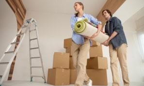 stěhování domů a bytů
