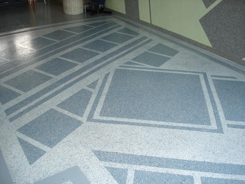 dekorativní kamínkový koberec HADALAN - interiér